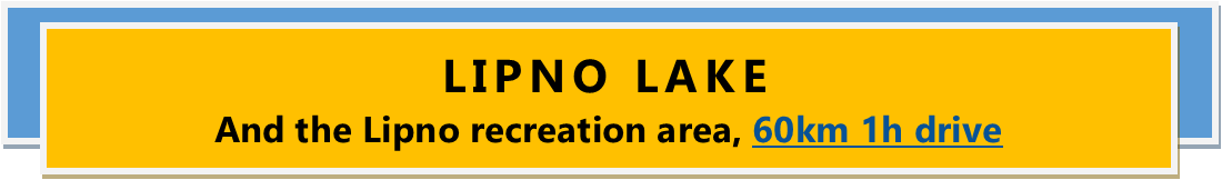 LIPNO LAKE And the Lipno recreation area